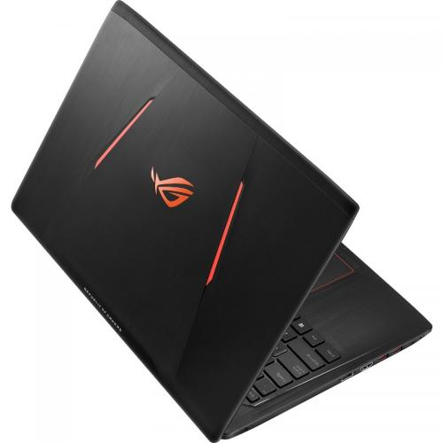 Laptop ASUS ROG GL553VE-FY343, Intel Core i7-7700HQ, 15.6inch, RAM 8GB, SSD 256GB, nVidia GeForce GTX 1050 Ti 4GB, Endless OS, Black