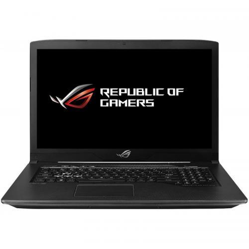 Laptop ASUS ROG GL703GE-EE023, Intel Core i7-8750H, 17.3inch, RAM 8GB, SSH 1TB, nVidia GeForce GTX 1050 Ti 4GB, Free Dos, Black