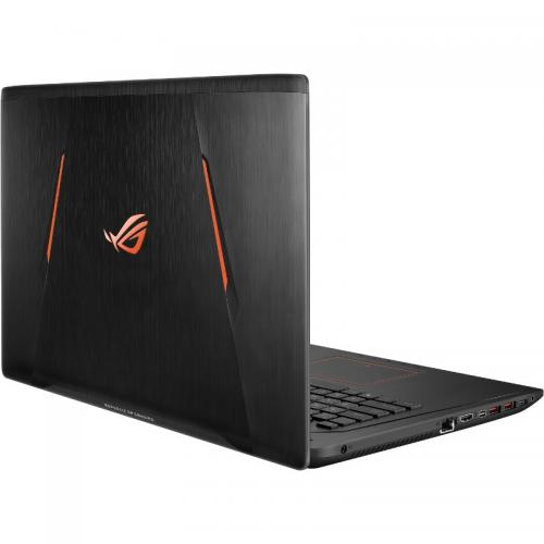 Laptop ASUS ROG GL753VE-GC024, Intel Core i7-7700HQ, 17.3inch, RAM 8GB, HDD 1TB + SSD 128GB, nVidia GeForce GTX 1050 Ti 4GB, Endless OS, Black