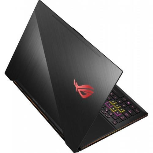 Laptop Asus ROG New ZEPHYRUS GX501GI-EI007T, Intel Core i7-8750H, 15.6inch, RAM 24GB, SSD 1TB, nVidia GeForce GTX 1080 8GB Max-Q, Windows 10, Black