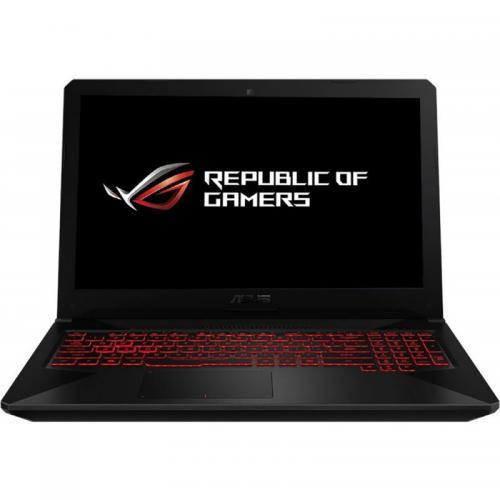 Laptop ASUS TUF FX504GE-E4628, Intel Core i5-8300H, 15.6inch, RAM 8GB, HDD 1TB, nVidia GeForce GTX 1050 Ti 2GB, No OS, Black