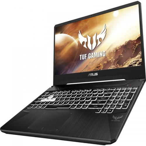 Laptop ASUS TUF FX505DU-AL079, AMD Ryzen 7 3750H, 15.6inch, RAM 16GB, SSD 512GB, nVidia GeForce GTX 1660 Ti 6GB, No OS, Black