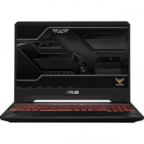 Laptop Asus TUF FX505GE-BQ145, Intel Core i7-8750H, 15.6inch, RAM 8GB, HDD 1TB + SSD 256GB, nVidia GeForce GTX 1050 Ti 4GB, No OS, Black