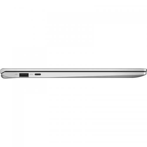 Laptop ASUS VivoBook 14 X420UA-BV083T, Intel Core i3-7020U, 14inch, RAM 4GB, SSD 128GB, Intel HD Graphics 620, Windows 10 S, Silver