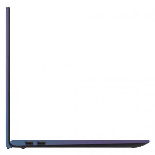 Laptop Asus VivoBook 15 X512FA-EJ1036, Intel Core i5-8265U, 15.6inch, RAM 8GB, SSD 512GB, Intel UHD Graphics 620, No OS, Peacock Blue