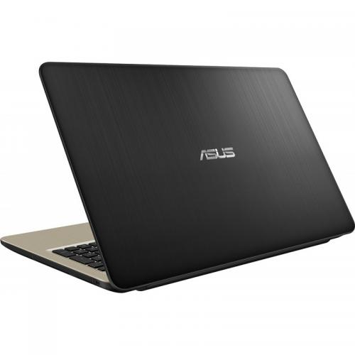 Laptop Asus VivoBook 15 X540UA-DM1153, Intel Core i3-7020U, 15.6inch, RAM 4GB, SSD 256GB, Intel HD Graphics 620, Endless OS, Chocolate Black