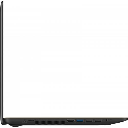 Laptop Asus VivoBook 15 X540UA-DM2013, Intel Core i3-7020U, 15.6inch, RAM 4GB, SSD 512GB, Intel HD Graphics 620, Endless OS, Chocolate Black