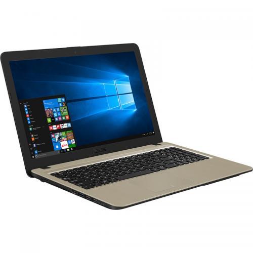 Laptop ASUS VivoBook 15 X540UB-DM753, Intel Core i5-8250U, 15.6inch, RAM 8GB, HDD 1TB, nVidia GeForce MX110 2GB, Endless OS, Chocolate Black
