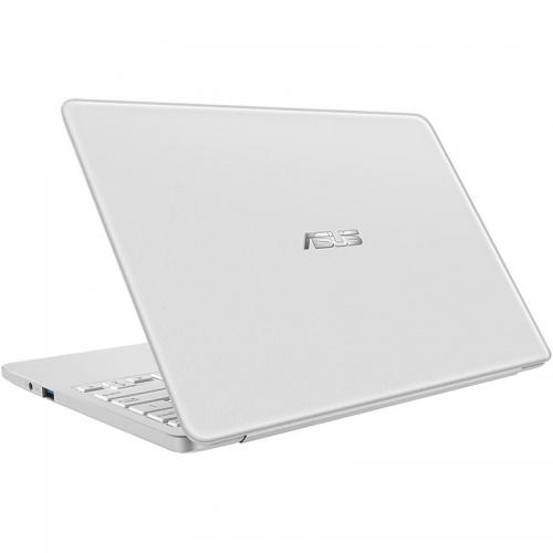 Laptop ASUS VivoBook E12 E203NA-FD017TS, Intel Celeron Dual Core N3350, 11.6inch, RAM 4GB, eMMC 32GB, Intel HD Graphics 500, Windows 10, Pearl White + Office 365 Personal 1an Inclus