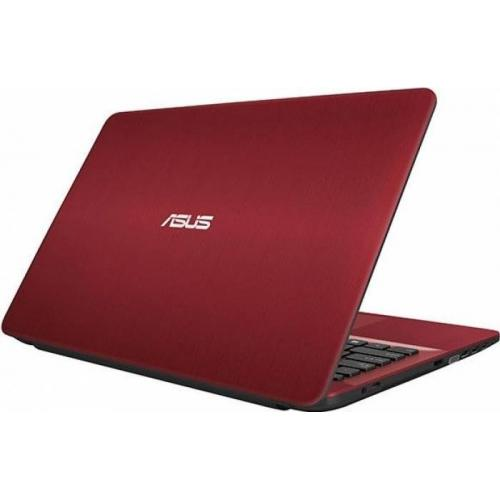 Laptop Asus Vivobook Max X541UA-DM1360, Intel Core i3-7100U, 15.6inch, RAM 4GB, HDD 1TB, Intel HD Graphics 620, Endless OS, Red