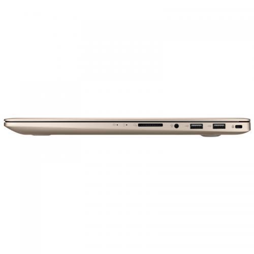 Laptop Asus VivoBook Pro 15 N580VD-DM290, Intel Core i5-7300HQ, 15.6inch, RAM 4GB, HDD 1TB, nVidia GeForce GTX 1050 2GB, Endless OS, Gold