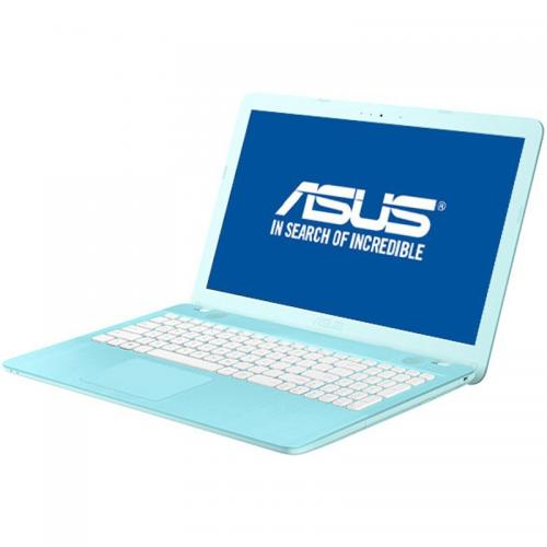 Laptop ASUS VivoBook X541UA-GO1710, Intel Core i3-7100U, 15.6inch, RAM 4GB, HDD 500GB, Intel HD Graphics 620, Endless OS, Aqua Blue