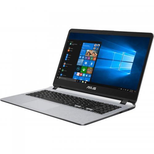 Laptop ASUS X507UA-EJ830, Intel Core i7-8550U, 15.6inch, RAM 8GB, SSD 256GB, Intel UHD Graphics 620, Endless OS, Star Grey