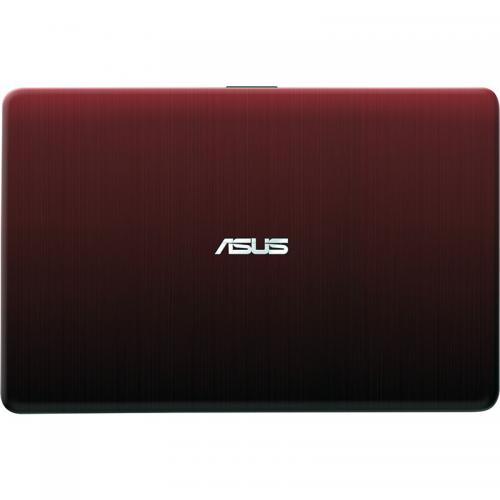 Laptop ASUS X541NA-GO009, Intel Celeron Dual Core N3350, 15.6inch, RAM 4GB, HDD 500GB, Intel HD Graphics 500, Free Dos, Red