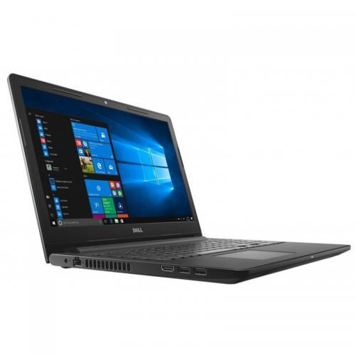 Laptop DELL Inspiron 3576, Intel Core i5-8250U, 15.6inch, RAM 8GB, SSD 256GB, AMD Radeon 520 2GB, Linux, Black