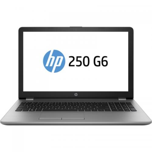 Laptop HP 250 G6, Intel Core i3-6006, 15.6inch, RAM 8GB, SSD 256GB, Intel HD Graphics 520, Free Dos, Silver