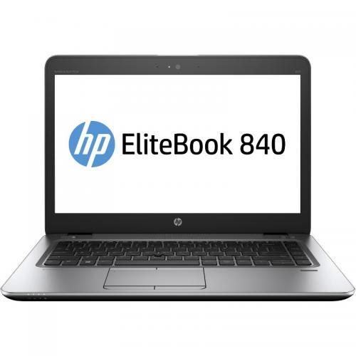 Laptop HP EliteBook 840 G4, Intel Core i5-7200U, 14inch, RAM 16GB, SSD 1TB, Intel HD Graphics 620, 4G, Windows 10 Pro, Silver