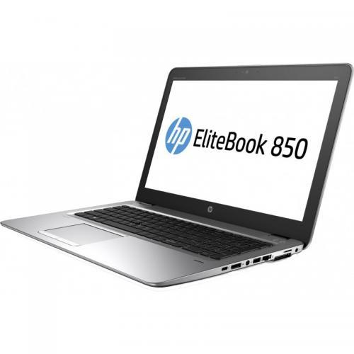 Laptop HP EliteBook 850 G4, Intel Core i5-7200U, 15.6inch, RAM 8GB, HDD 500GB, Intel HD Graphics 620, Windows 10 Pro, Silver