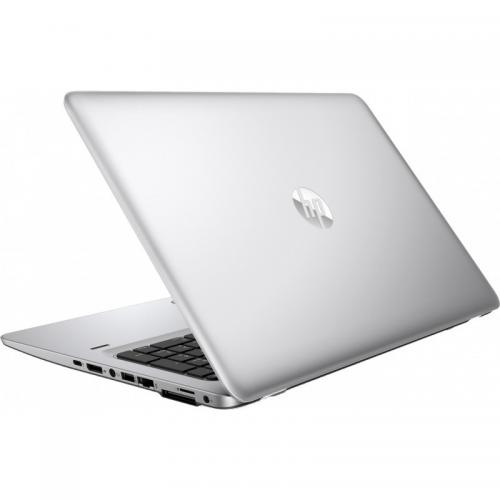 Laptop HP EliteBook 850 G4, Intel Core i5-7200U, 15.6inch, RAM 8GB, SSD 256GB, Intel HD Graphics 620, Windows 10 Pro, Silver