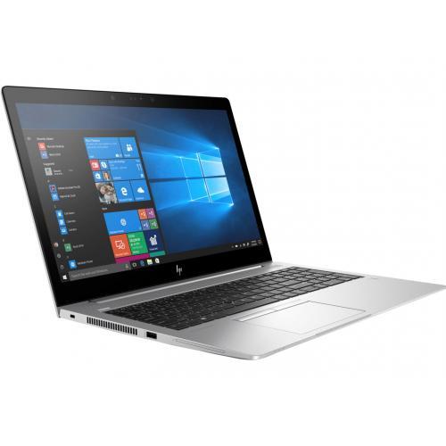 Laptop HP EliteBook 850 G5, Intel Core i7-8550U, 15.6inch, RAM 16GB, SSD 512GB, Intel UHD graphics 620, Windows 10 Pro, Silver