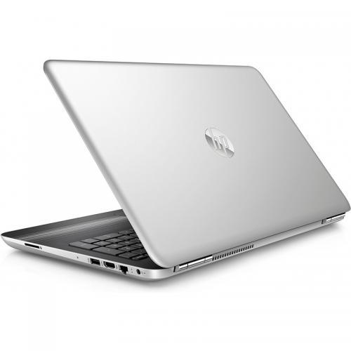 Laptop HP Pavilion 15-au107nq, Intel Core i7-7500U, 15.6inch, RAM 8GB, HDD 1TB, nVidia GeForce 940MX 4GB, Free Dos, Silver-Black