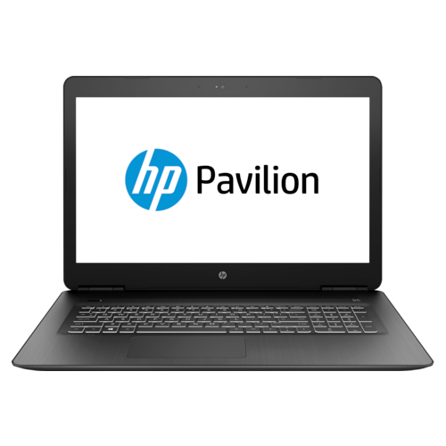 Laptop HP Pavilion 17-ab406nq, Intel Core i7-8750H, 17.3inch, RAM 12GB, HDD 1TB + SSD 128GB, nVidia GeForce GTX 1050Ti 4GB, FreeDos, Black