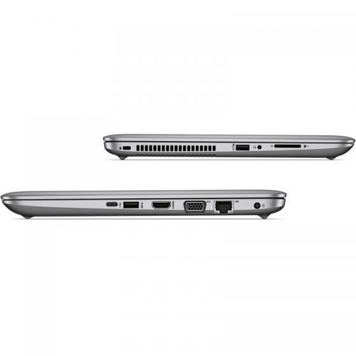 Laptop HP Probook 440 G4, Intel Core i3-7100U, 14inch, RAM 4GB, HDD 500GB, Intel HD Graphics 620, Free Dos, Silver