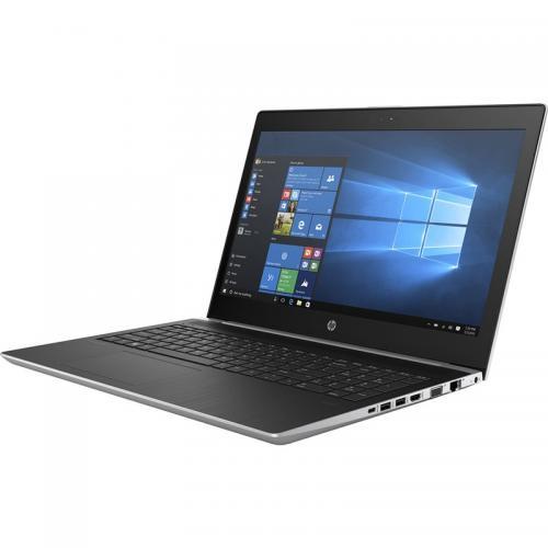 Laptop HP ProBook 450 G5, Intel Core i7-8550U, 15.6inch, RAM 8GB, HDD 1TB, nVidia GeForce 930MX 2GB, Free Dos, Silver