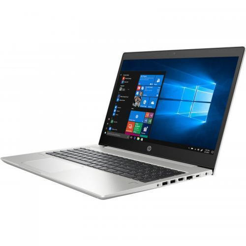 Laptop HP ProBook 450 G6, Intel Core i5-8265U, 15.6inch, RAM 8GB, HDD 1TB + SSD 256GB, Intel UHD Graphics 620, FreeDos, Silver