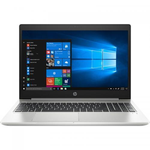 Laptop HP ProBook 450 G6, Intel Core i5-8265U, 15.6inch, RAM 8GB, SSD 256GB, nVidia GeForce MX130 2GB, FreeDos, Silver