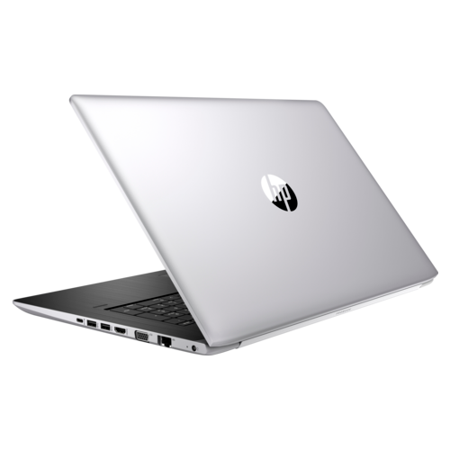 Laptop HP ProBook 470 G5, Intel Core i7-8550U, 17.3inch, RAM 8GB, SSD 256GB, nVidia GeForce 930MX 2GB, Windows 10 Pro, Silver-Black