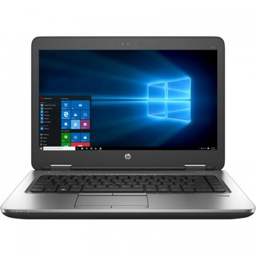Laptop HP ProBook 640 G3, Intel Core i5-7200U, 14inch, RAM 8GB, SSD 256GB, Intel HD Graphics 620, Windows 10 Pro, Black-Silver