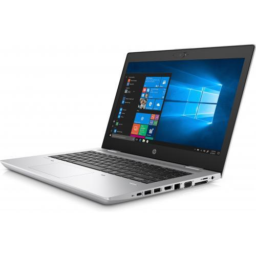 Laptop HP ProBook 640 G4, Intel Core i5-8250U, 14inch, RAM 8GB, SSD 256GB, Intel UHD Graphics 620, Windows 10 Pro, Silver