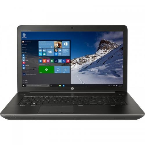 Laptop HP ZBook 17 G3, Intel Core i7-6820HQ, 17.3inch, RAM 16GB, HDD 2TB 7200 + SSD 512GB, nVidia Quadro M3000M 4GB, Windows 7 Pro + Windows 10 Pro, Black-Grey