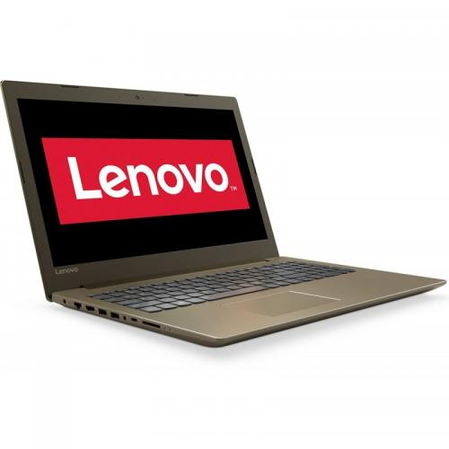 Laptop Lenovo IdeaPad 520 IKBR, Intel Core i7-8550U, 15.6inch, RAM 8GB, SSD 256GB, Intel UHD Graphics 620, Free Dos, Bronze