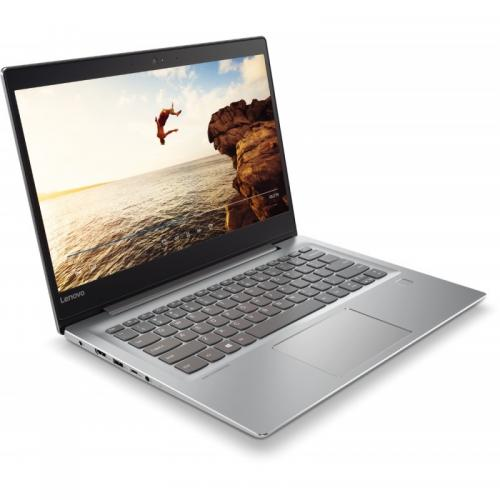 Laptop Lenovo IdeaPad 520S-14IKB, Intel Core i5-7200U, 14inch, RAM 4GB, HDD 1TB, nVidia GeForce 940MX 2GB, Free Dos, Mineral Grey