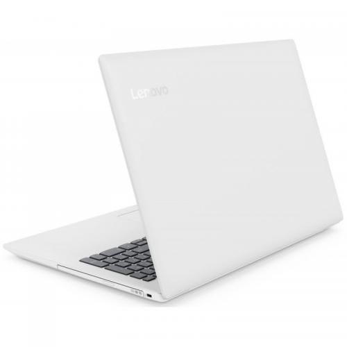 Laptop Lenovo IdeaPad IP330-15IGM, Intel Pentium Quad Core Silver N5000, 15.6inch, RAM 4GB, SSD 256GB, Intel UHD Graphics 605, FreeDos, Blizzard White