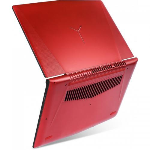 Laptop Lenovo Legion Y520, Intel Core i7-7700HQ, 15.6inch, RAM 16GB, SSD 256GB, nVidia GeForce GTX 1050 Ti 4GB, Free Dos, Red