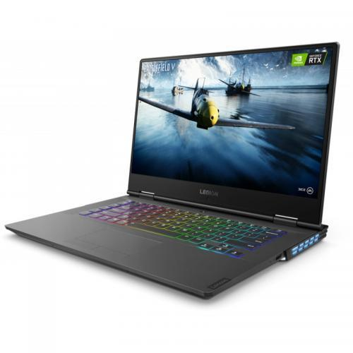 Laptop Lenovo Legion Y740-15IRHG, Intel Core i7-9750H, 15.6inch, RAM 16GB, SSD 1TB, nVidia GeForce RTX 2060 6GB, Free Dos, Black