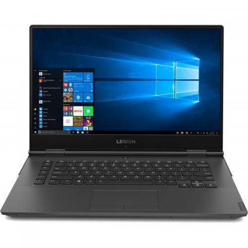 Laptop Lenovo Legion Y740-15IRHG, Intel Core i7-9750H, 15.6inch, RAM 16GB, SSD 512GB, nVidia GeForce GTX 1660 Ti 6GB, Free Dos, Black