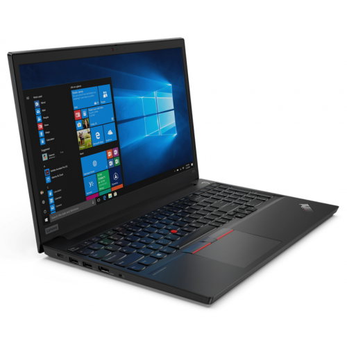 Laptop Lenovo ThinkPad E15, Intel Core i5-10210U, 15.6inch, RAM 8GB, SSD 256GB, Intel UHD Graphics, Free DOS, Black