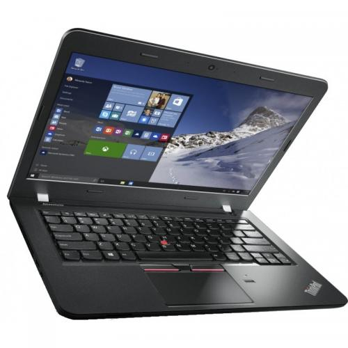 Laptop Lenovo ThinkPad E460, Intel Core i5-6200U, 14inch, RAM 4GB, HDD 500GB, AMD Radeon R7 M360 2GB, Windows 10 Pro, Graphite Black