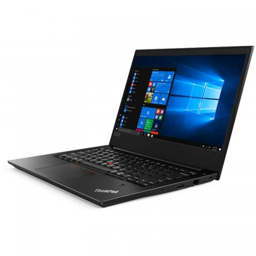 Laptop Lenovo ThinkPad E480, Intel Core i7-8550U, 14inch, RAM 8GB, SSD 256GB, AMD Radeon RX550 2GB, Windows 10 Pro, Black