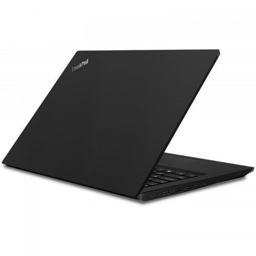 Laptop Lenovo ThinkPad E490, Intel Core i7-8565U, 14inch, RAM 8GB, SSD 512GB, AMD Radeon RX 550X 2GB, Windows 10 Pro, Black