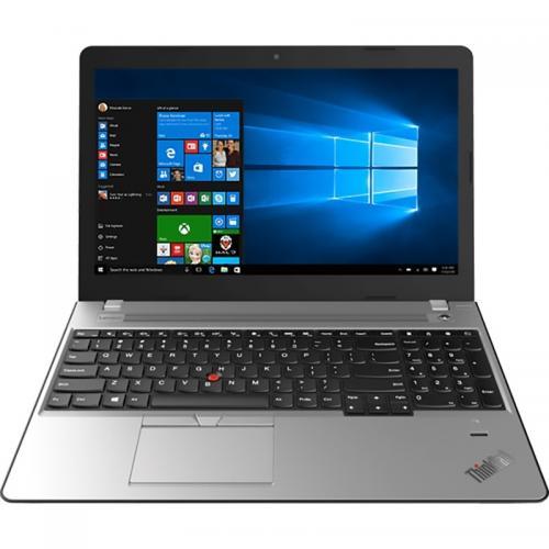 Laptop Lenovo ThinkPad E570, Intel Core i7-7500U, 15.6inch, RAM 8GB, SSD 256GB, nVidia GeForce GTX 950M 2GB, Windows 10 Pro, Silver-Black