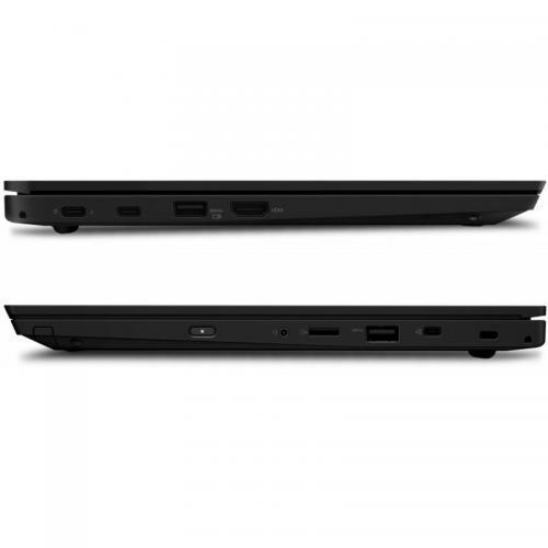 Laptop Lenovo ThinkPad L390, Intel Core i5-8265U, 13.3inch, RAM 8GB, SSD 512GB, Intel UHD Graphics 620, Windows 10 Pro, Black