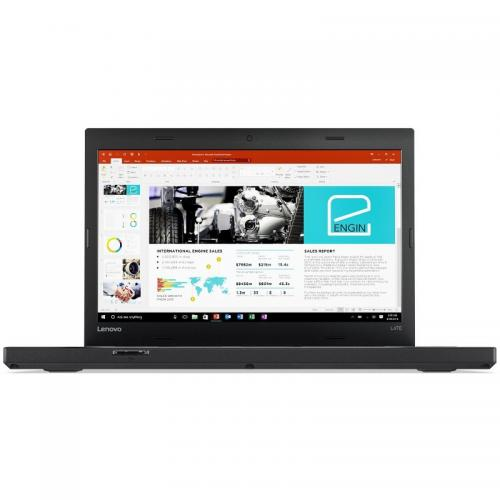 Laptop Lenovo ThinkPad L470, Intel Core i7-7500U, 14inch, RAM 8GB, SSD 256GB, AMD Radeon R5 M430 2GB, Windows 10 Pro, Black