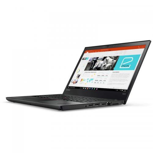 Laptop Lenovo ThinkPad T470, Intel Core i5-7200U, 14inch, RAM 8GB, SSD 512GB, Intel HD Graphics 620, Windows 10 Pro, Black