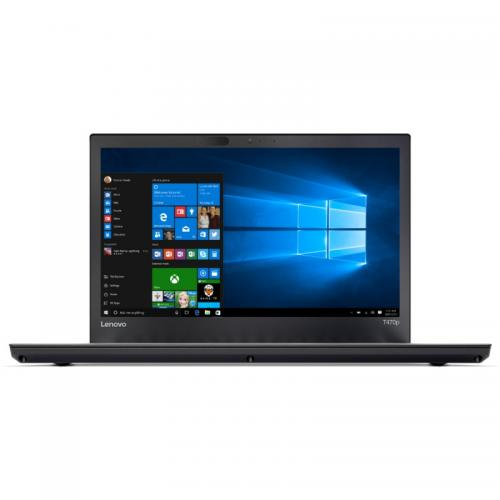 Laptop Lenovo ThinkPad T470p, Intel Core i5-7300HQ, 14inch, RAM 8GB, SSD 256GB, Intel HD Graphics 630, Windows 10 Pro, Black