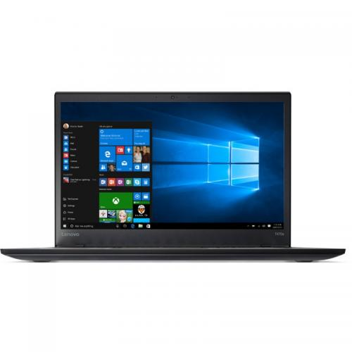 Laptop Lenovo ThinkPad T470s, Intel Core i5-7200U, 14inch, RAM 8GB, SSD 256GB, Intel HD Graphics 620, 4G, Windows 10 Pro, Black